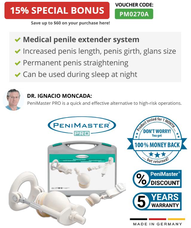 Extensor de pene PeniMaster Pro